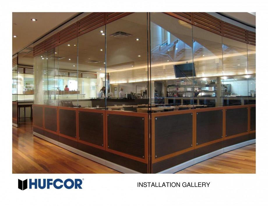 Pagina 31 - Pereti amovibili HUFCOR Lucrari, proiecte Engleza
