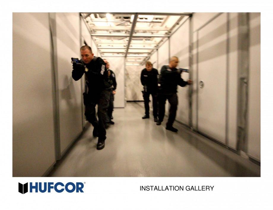 Pagina 35 - Pereti amovibili HUFCOR Lucrari, proiecte Engleza