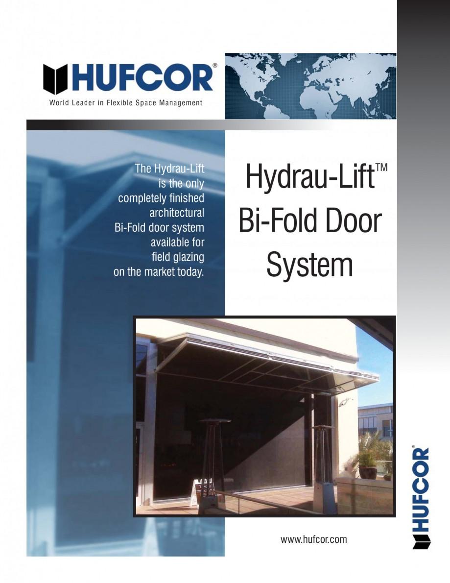 Pagina 1 - Pereti amovibili -prezentarea sistemului Hydrau Lift  HUFCOR Catalog, brosura Engleza...