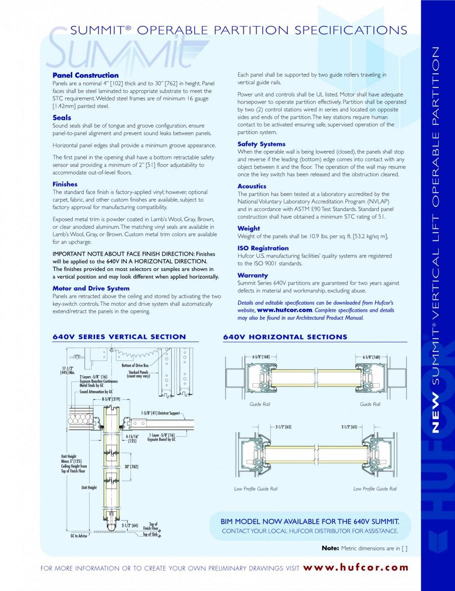 Pagina 3 - Pereti amovibili - prezentarea compartimentarilor HUFCOR Catalog, brosura Engleza ISIT  w...