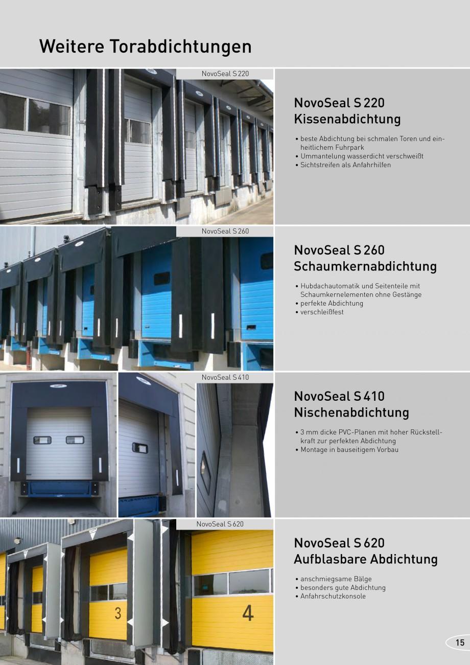 Pagina 15 - Rampe de incarcare, descarcare NOVOFERM NovoDock L300, NovoDock H1300, NovoDock H1500,...