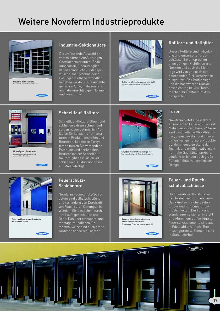 Pagina 17 - Rampe de incarcare, descarcare NOVOFERM NovoDock L300, NovoDock H1300, NovoDock H1500,...