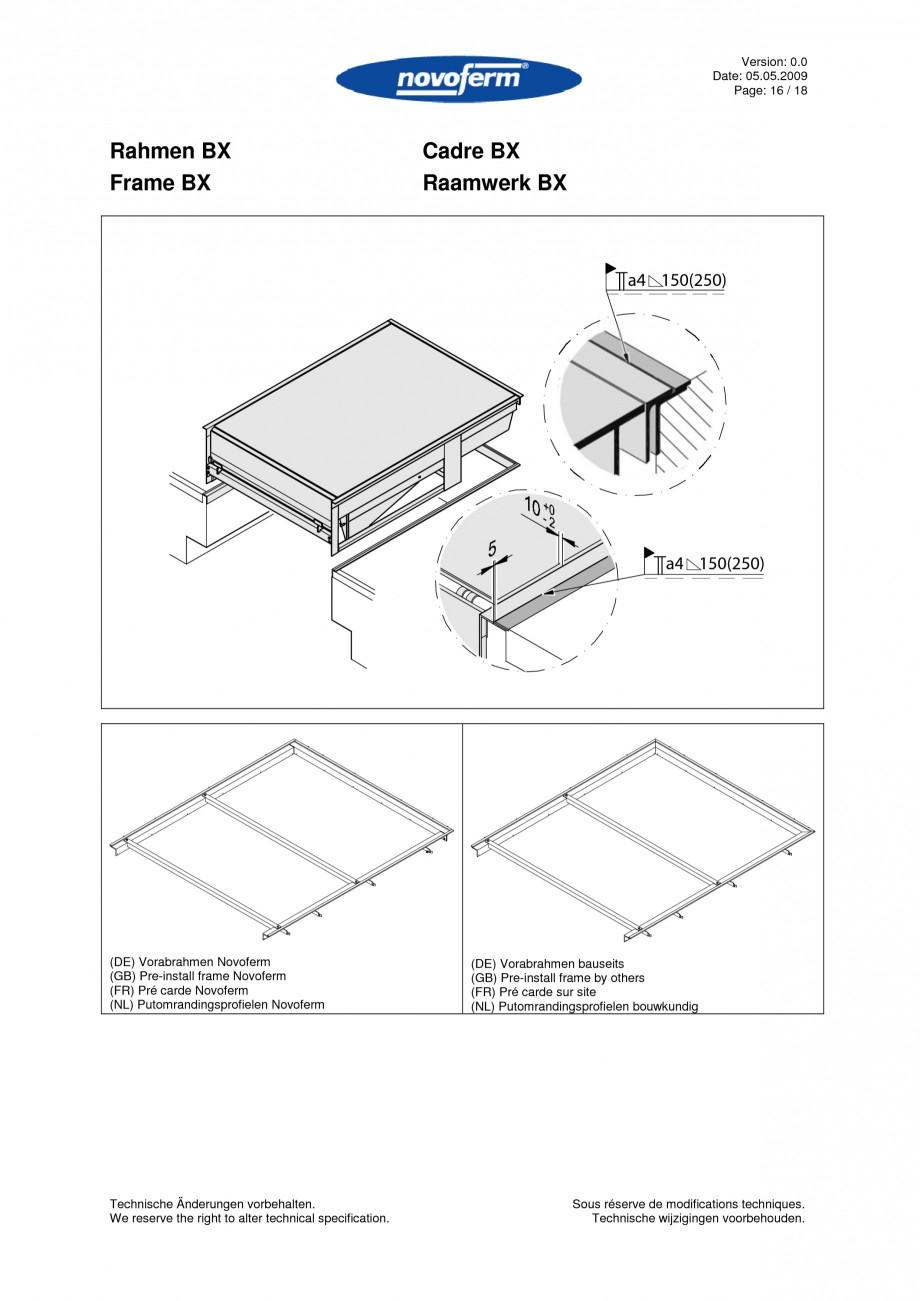 Pagina 16 - Rampe de incarcare, descarcare  NOVOFERM NovoDock L300 Instructiuni montaj, utilizare...