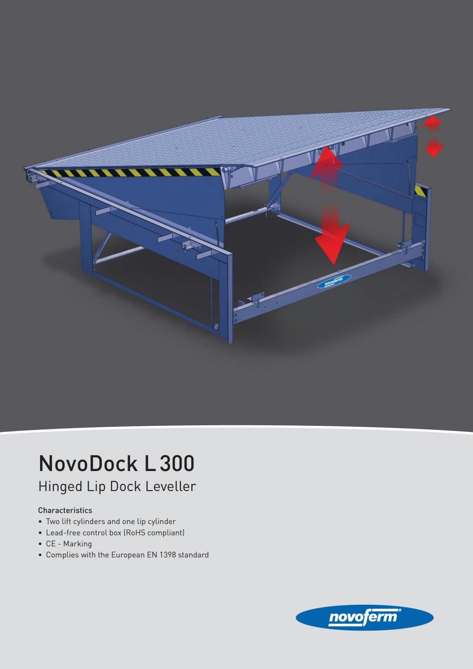 Pagina 1 - Rampe de incarcare, descarcare NOVOFERM NovoDock L300 Fisa tehnica Engleza NovoDock L 300...