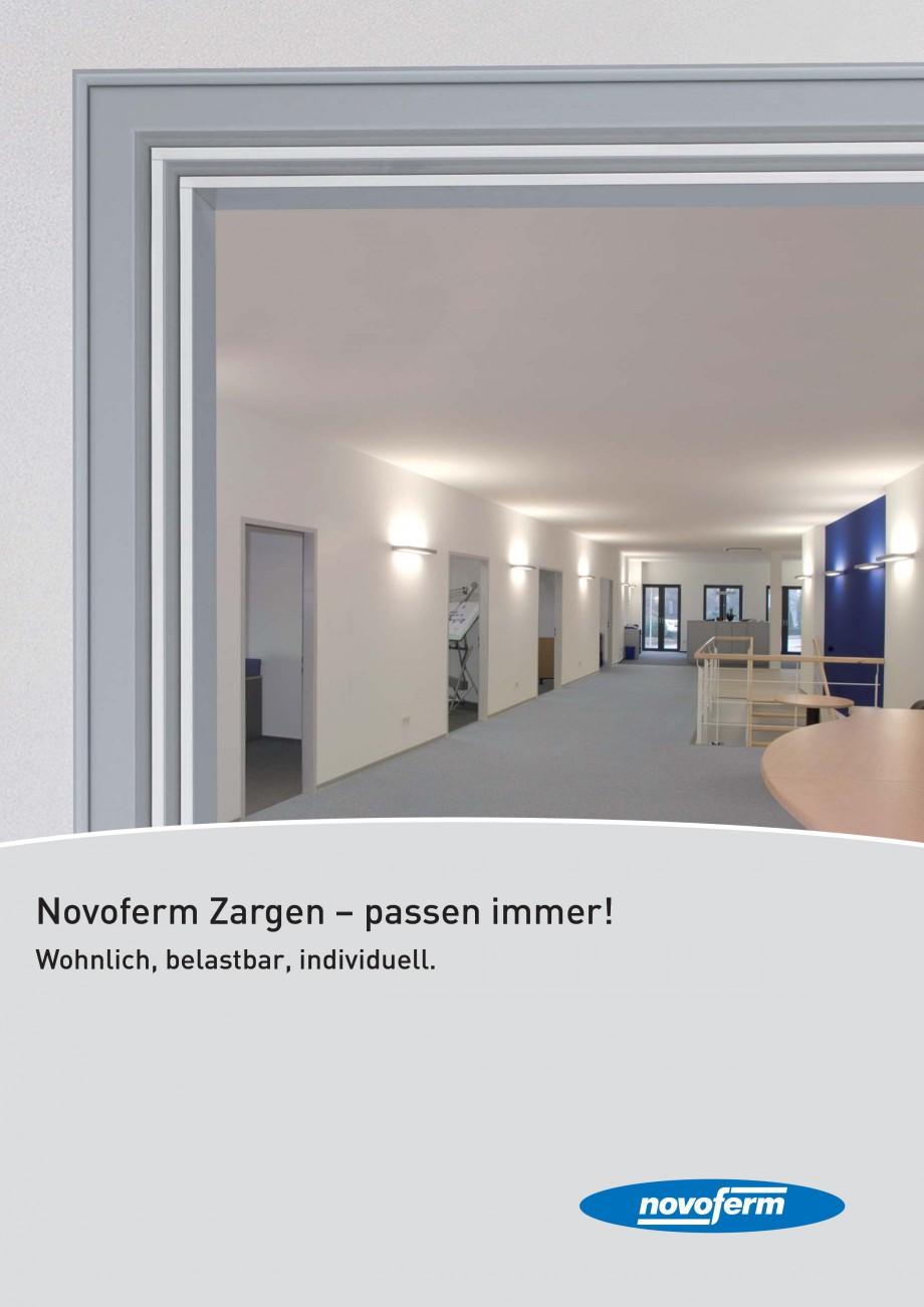 Pagina 1 - Caracteristicile tehnice pentru usile rezistente la foc NOVOFERM Fisa tehnica Germana...