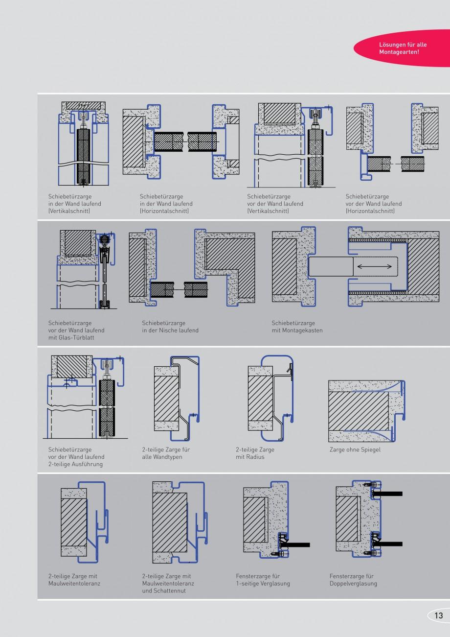 Pagina 13 - Caracteristicile tehnice pentru usile rezistente la foc NOVOFERM Fisa tehnica Germana in...