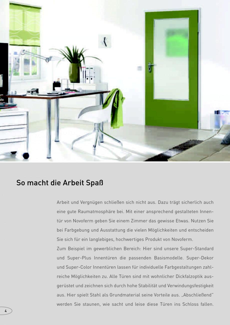 Pagina 4 - Usi rezistente la foc NOVOFERM Fisa tehnica Germana d dichtschließend Unsere Produkte...
