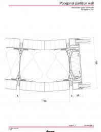 Pereti de compartimentare poligonali