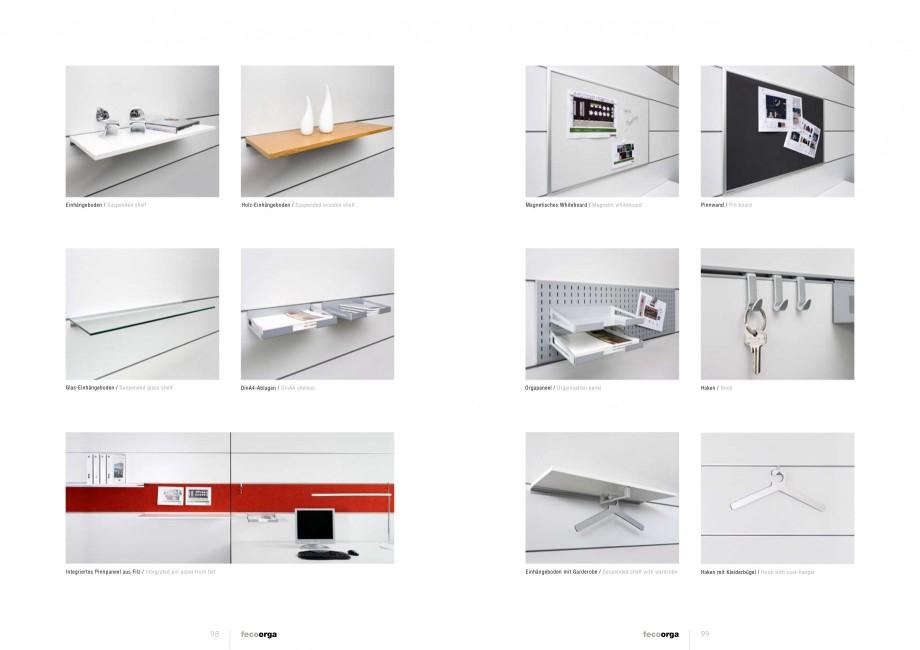 Pagina 49 - Catalog  - Sistem de compartimentare birouri cu usi si pereti din sticla sau lemn FECO...
