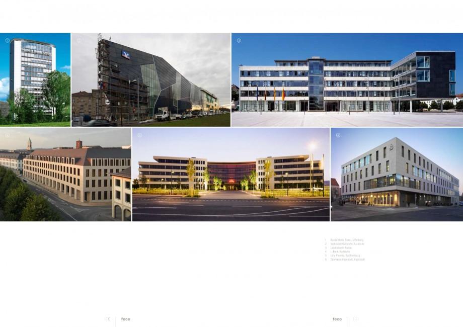 Pagina 55 - Catalog  - Sistem de compartimentare birouri cu usi si pereti din sticla sau lemn FECO...