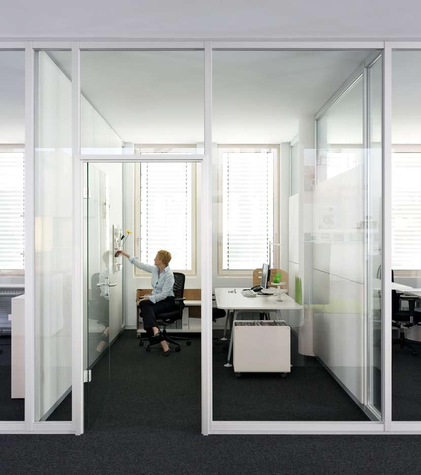 Compartimentari de birouri cu pereti si usi de sticla FECO - Poza 1