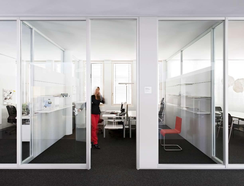 Compartimentari de birouri cu pereti si usi de sticla FECO - Poza 3
