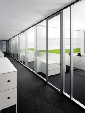 Prezentare produs Compartimentari de birouri cu pereti si usi de sticla FECO - Poza 4