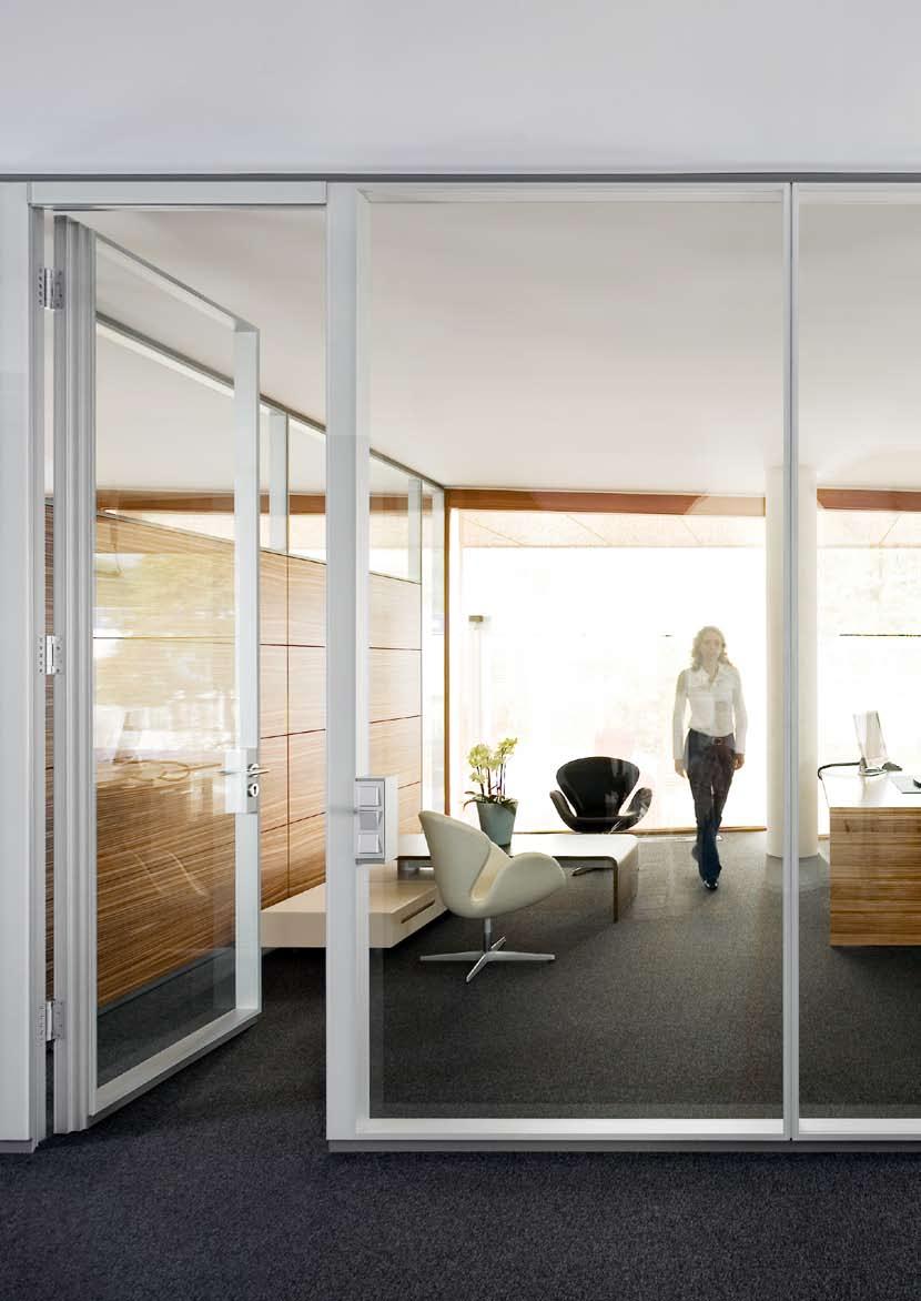 Compartimentari de birouri cu pereti si usi de sticla FECO - Poza 4