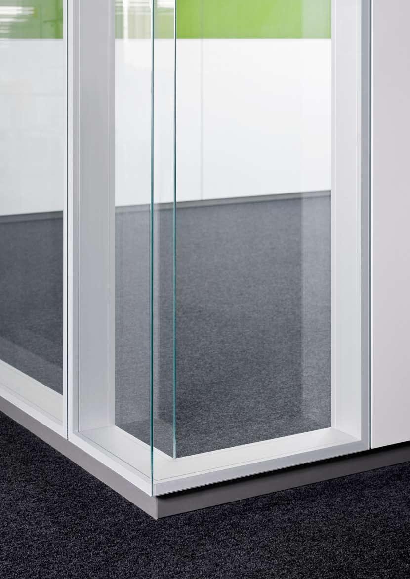 Compartimentari de birouri cu pereti si usi de sticla FECO - Poza 5