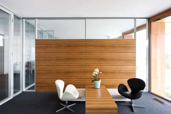 Compartimentari de birouri cu pereti si usi de sticla FECO - Poza 6