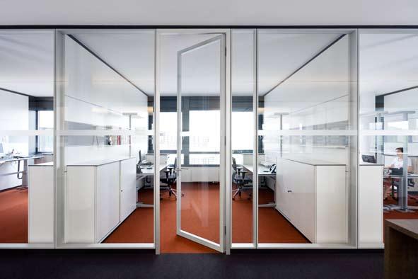 Compartimentari de birouri cu pereti si usi de sticla FECO - Poza 7