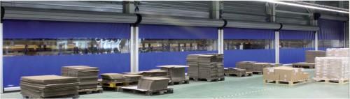 Prezentare produs Porti industriale rapide NovoSpeed NOVOFERM - Poza 5