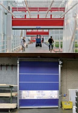 Prezentare produs Porti industriale rapide NovoSpeed NOVOFERM - Poza 18