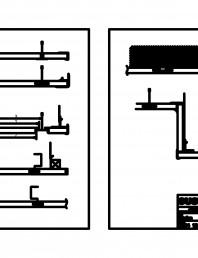 Panouri fonoabsorbante - Montaj pe plafon