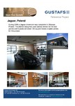 Panouri fonoabsorbante - Showroom Jaguar, Poland GUSTAFS
