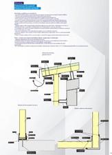 Montaj pentru panouri termoizolante de pereti ISOPER