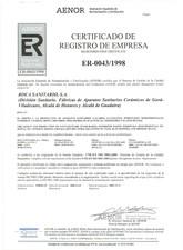 Certificat de inregistrare ROCA