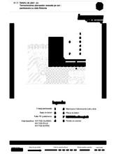 Detaliu de planseu - termoizolarea planseelor asezate pe sol - pardoseala cu dala flotanta KNAUF INSULATION