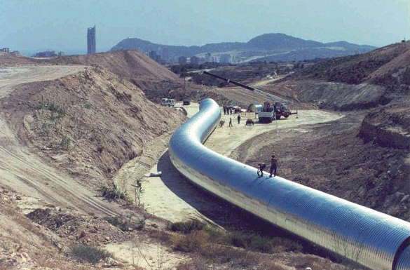 Structuri metalice prefabricate pentru tuneluri, canale,scurgeri colectoare, canale irigare si lucrari de drenaj TUBOSIDER - Poza 1