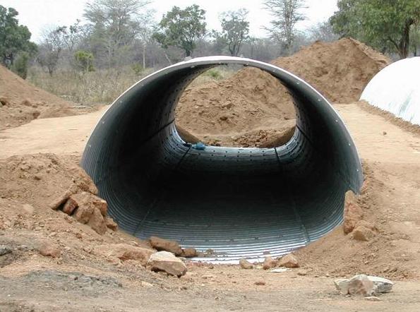 Structuri metalice prefabricate pentru tuneluri, canale,scurgeri colectoare, canale irigare si lucrari de drenaj TUBOSIDER - Poza 7