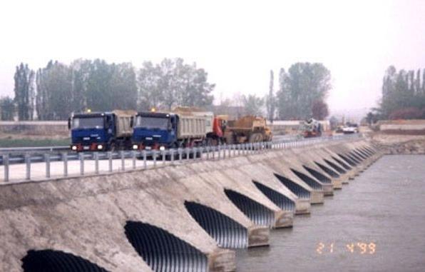 Structuri metalice prefabricate pentru tuneluri, canale,scurgeri colectoare, canale irigare si lucrari de drenaj TUBOSIDER - Poza 11