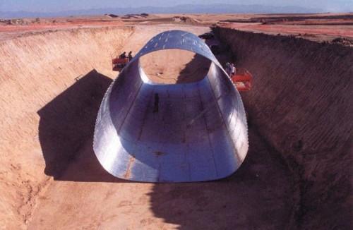 Structuri metalice prefabricate pentru tuneluri, canale,scurgeri colectoare, canale irigare si lucrari de drenaj TUBOSIDER - Poza 15