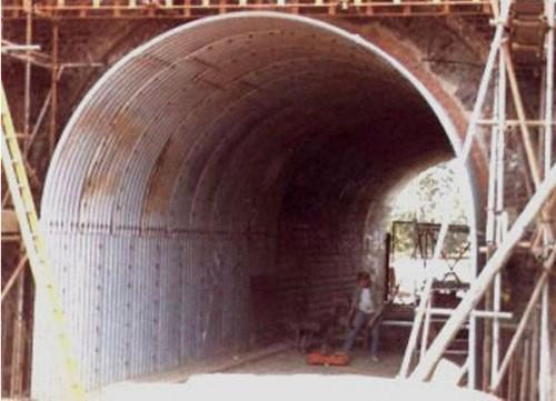 Structuri metalice prefabricate pentru tuneluri, canale,scurgeri colectoare, canale irigare si lucrari de drenaj TUBOSIDER - Poza 16