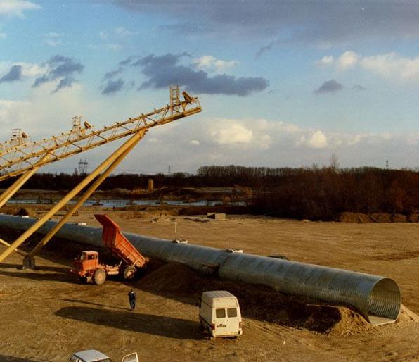 Structuri metalice prefabricate pentru tuneluri, canale,scurgeri colectoare, canale irigare si lucrari de drenaj TUBOSIDER - Poza 18