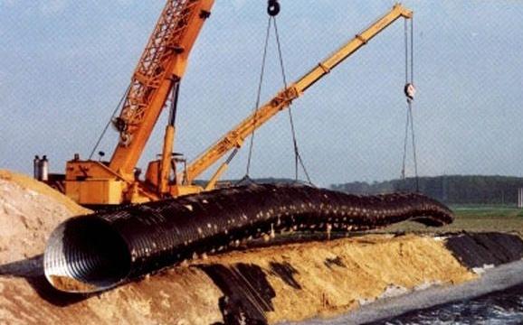 Structuri metalice prefabricate pentru tuneluri, canale,scurgeri colectoare, canale irigare si lucrari de drenaj TUBOSIDER - Poza 22