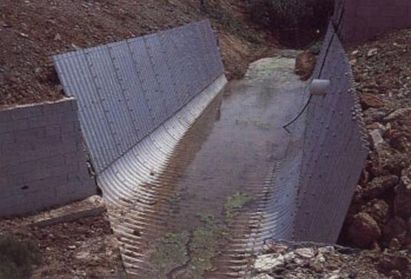 Structuri metalice prefabricate pentru tuneluri, canale,scurgeri colectoare, canale irigare si lucrari de drenaj TUBOSIDER - Poza 23
