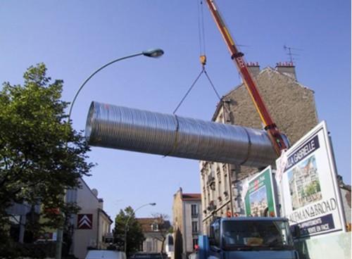 Structuri metalice prefabricate pentru tuneluri, canale,scurgeri colectoare, canale irigare si lucrari de drenaj TUBOSIDER - Poza 26