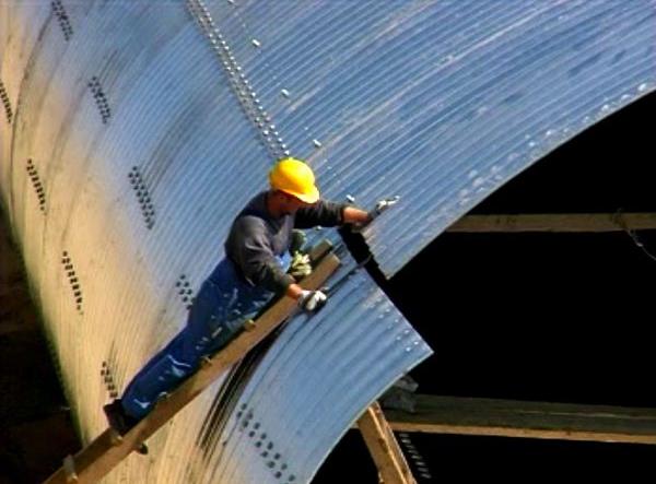 Structuri metalice prefabricate pentru tuneluri, canale,scurgeri colectoare, canale irigare si lucrari de drenaj TUBOSIDER - Poza 27
