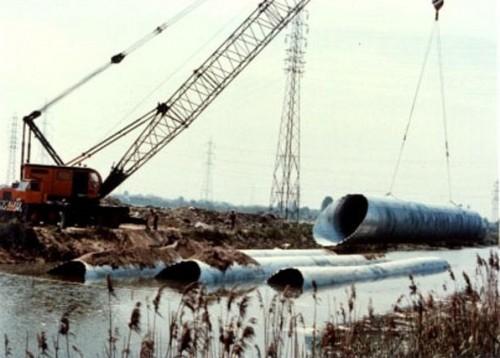 Structuri metalice prefabricate pentru tuneluri, canale,scurgeri colectoare, canale irigare si lucrari de drenaj TUBOSIDER - Poza 28