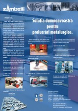 Solutii pentru prelucrari metalurgice