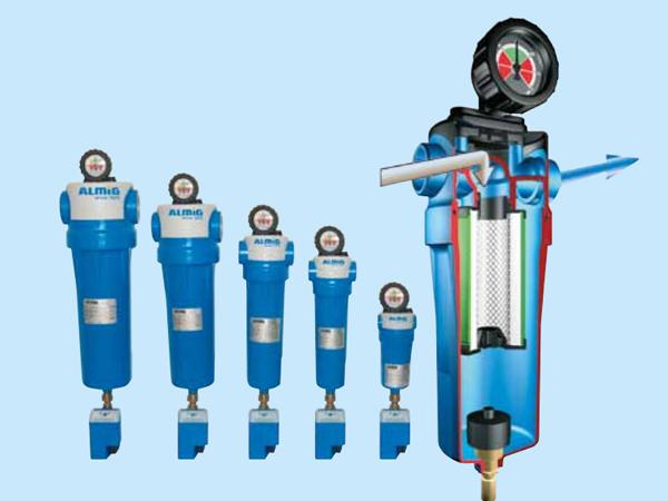 Uscatoare aer comprimat, filtre, separatoare, management condens ALMIG - Poza 1