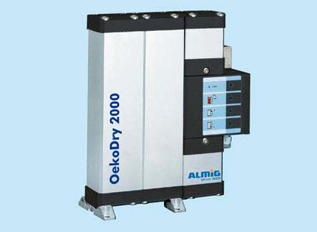 Uscatoare aer comprimat, filtre, separatoare, management condens ALMIG - Poza 3