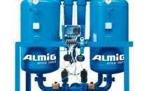 Uscatoare aer comprimat, filtre, separatoare, management condens Separatoare cu ciclon tip AS marca ALMIG servesc la indepartarea umiditatii din aerul comprimat. Debitele de tranzit sunt cuprinse intre 30- 12000 m3/h, la 7 bar suprapresiune.Filtrele de mare performanta tip AFP / AFM / AFS / AFC marcaALMIG filtreaza aer comprimat pentru cele mai inalte exigente.Uscatoarele prin refrigerare din seria ADQ au ca parametri  temperatura de intrare 60 grade C si punct de roua 3 grade C constant si o inalta  separare a apei in conditii extreme de functionare.