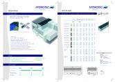 Rigole cu rezistenta mare - Sistem MAXI HYDROTEC