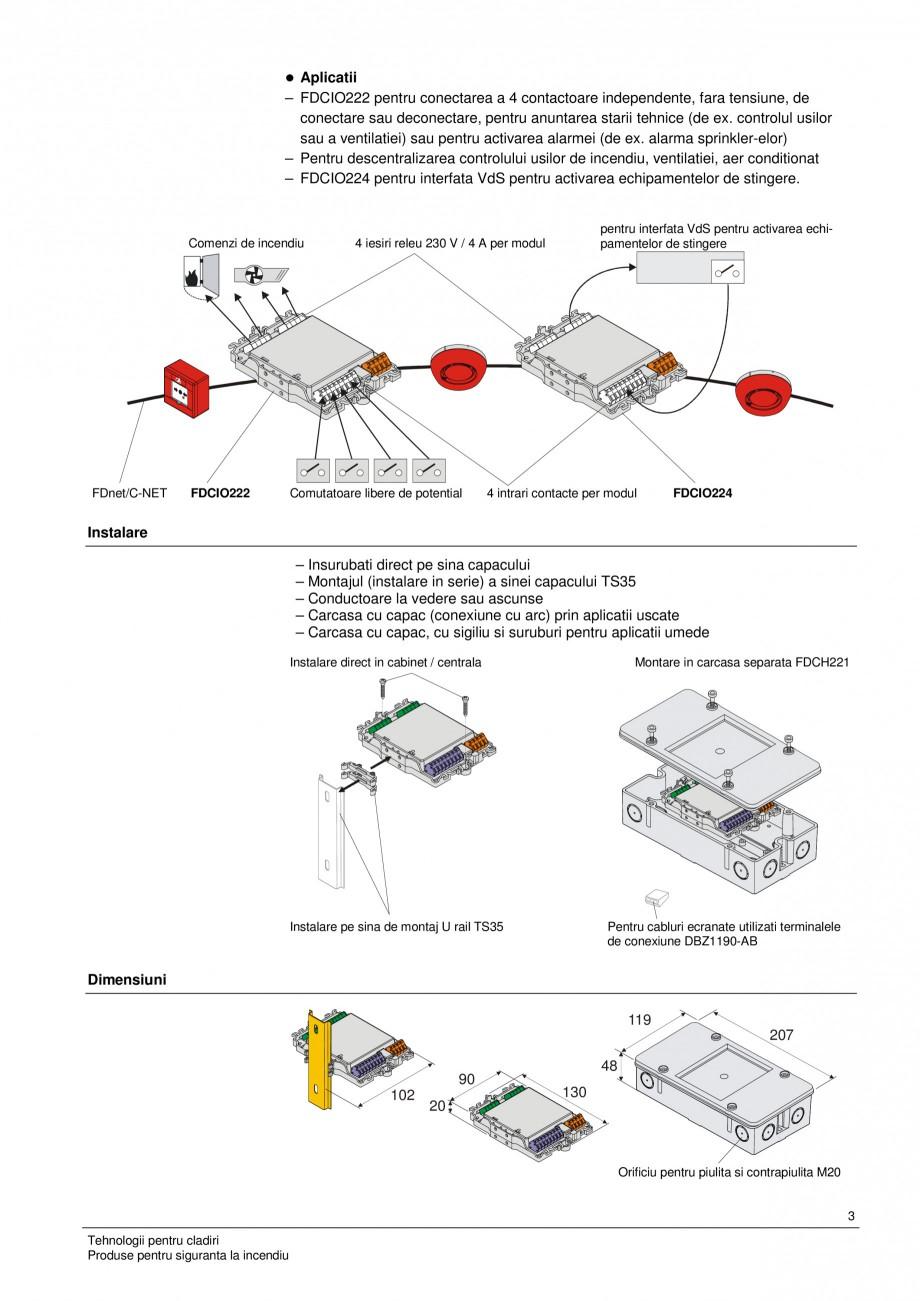 fisa tehnica modul intrare modul intrare iesire fdcio222. Black Bedroom Furniture Sets. Home Design Ideas