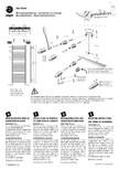 Calorifer de baie port prosop vertical JAGA - SANI Basic