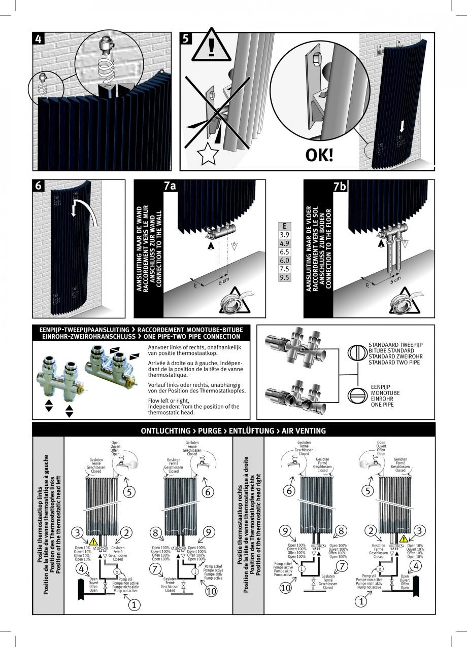 Pagina 2 - Calorifer vertical cu elementi triunghiulari din otel JAGA IGUANA Arco / Plus...