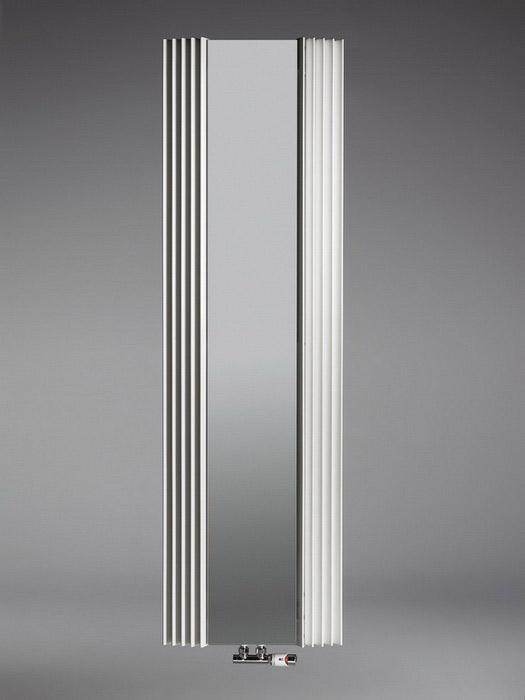 Calorifere verticale cu elementi triunghiulari din otel si oglinda JAGA - Poza 2
