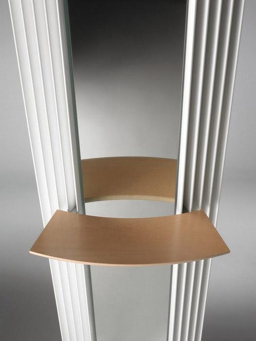 Calorifere verticale cu elementi triunghiulari din otel si oglinda JAGA - Poza 5
