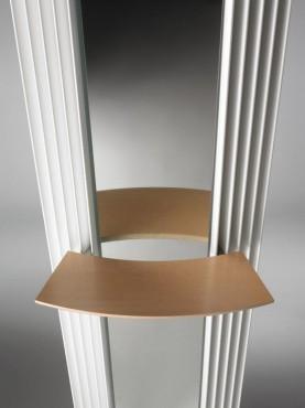 Prezentare produs Calorifere verticale cu elementi triunghiulari din otel si oglinda JAGA - Poza 5